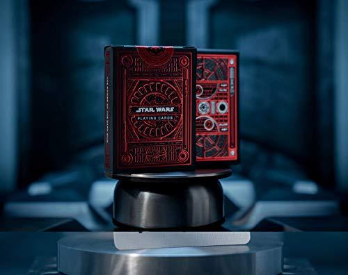 Baraja de póquer de Star Wars – The Dark Side | El lado oscuro de la fuerza | Cartas de juego premium en funda de tarjeta diseñada con cariño |