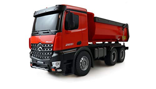 22407 Amewi 22407 Mercedes Benz Arocs Elettrica Camion modello RtR incl. Batteria e caricatore