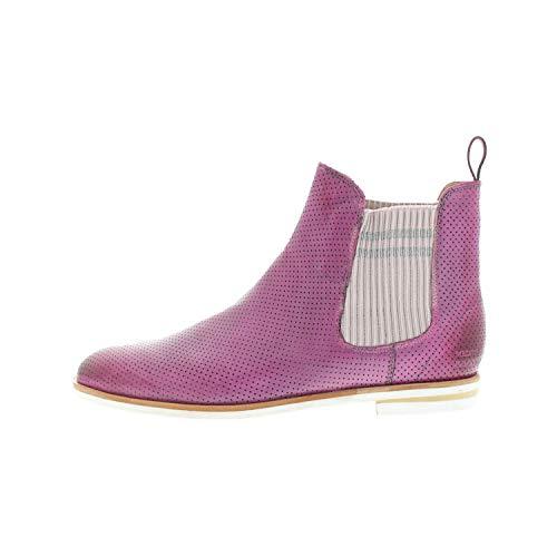 Melvin & Hamilton Damenschuhe Chelsea Boots Stiefelette Fuxia Susan 10A (42 EU)