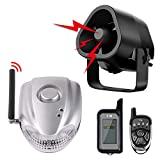 Autopmall Car Alarm Protection System Auto Security 2 Way Remote System Wireless Alarm Shock Alarm No...