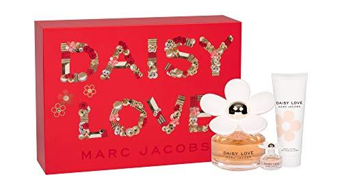 Marc Jacobs Daisy LOVE 100ml Eau de Toilette + 10ml Eau de Toilette + 75ml Body Lotion