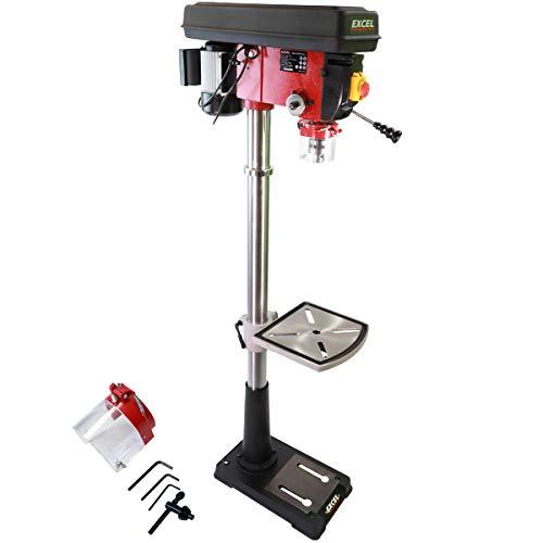 Excel 20mm Pillar Drill Press Bench 12-Speed 600W/230V
