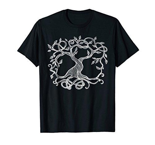 Celtic Tree Druid Tree of Life Nature Symbol Tshirt