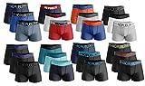 No Publik. Boxer Homme Confort et Fantaisie en Coton -Assortiment modèles Photos Selon arrivages- (Medium, Pack de 6 Boxers Colors Surprise)