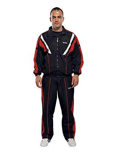ClubLine Trainingsanzug San Remo in 2 Farben (weiß, L)