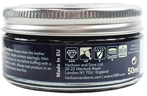 [ウレンズ]シューケア製品Wren'sレザークリーム118ブラック(黒色)50ml