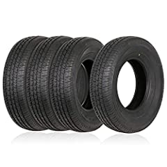 """Trailer Tires 175/80R13 ST 175/80R13 175 80R13; Tire Load Range: C = 6 Ply Construction. Max Capacity: 1360 pounds; Maximum PSI: 50; Rim Diameter: 13""""; Rim Width: 5.5"""". Weize trailer tire couples the strength of a bias tire with the durability and st..."""
