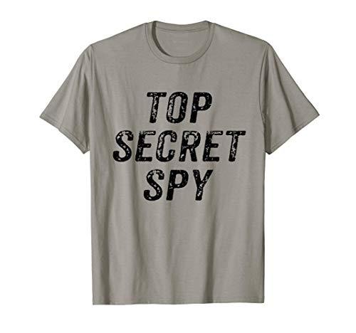 Top Secret Spy, ironico y divertido Camiseta