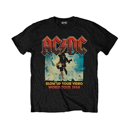 AC/DC 'Blow Up Your Video' (Black) Kids T-Shirt (3-4 Years)