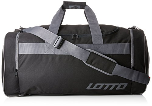 Lotto Bag Thunder II L–Rucksack Sport Herren, Schwarz/Grau, Gr. 1