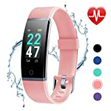 Best Fitness Tracker Watches - LETSCOM Fitness Tracker with Heart Rate Monitor, Color Review
