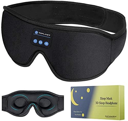 Eye Mask Sleep headphones, Sleeping Mask for Women Men, Bluetooth 5.0...