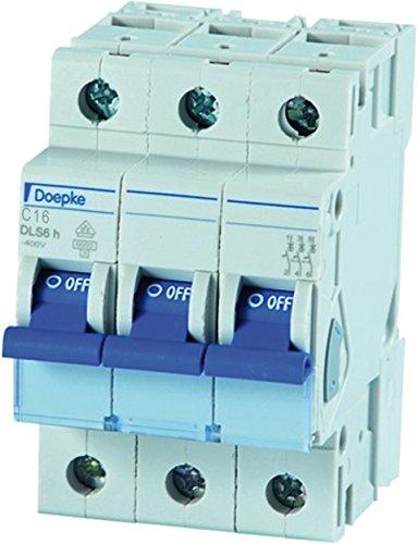 Doepke Leitungsschutzschalter DLS 6H C16-3 6 kA Leitungsschutzschalter 4014712163744