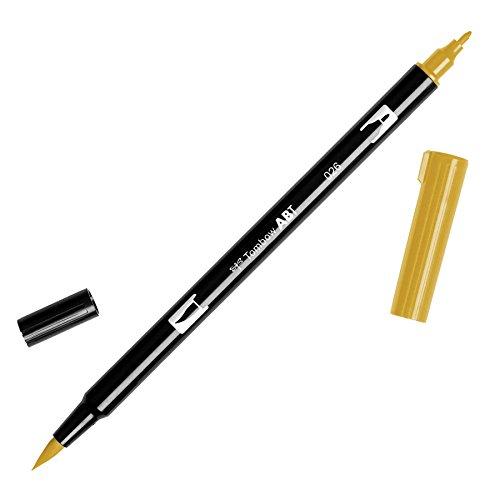 Rotulador Abt Dual Brush 026 Yellow Gold Tombow