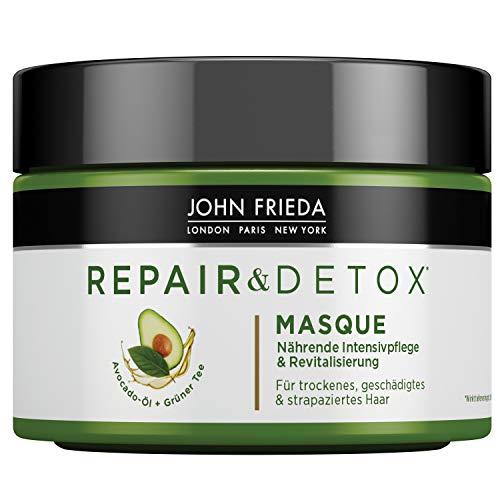 John Frieda Repair & Detox* masker/kuur - met avocado-olie en groene thee (1 x 250 ml)