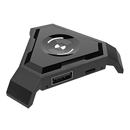Non-brand Adaptador de Bluetooth del Convertidor del Ratón del Teclado del Juego del Regulador del Gamepad Móvil