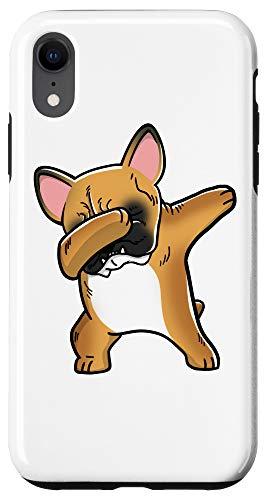 iPhone XR Dabbing Fawn French Bulldog Dog Case