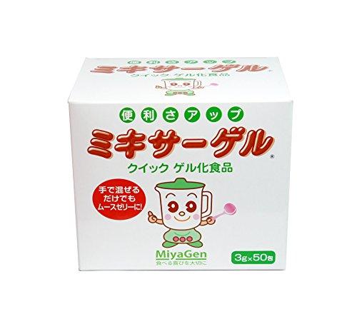 宮原 ミキサーゲル スティック 3gX50本 ゼリー剤