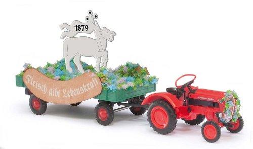 Busch Voitures - BUV50001 - Modélisme Ferroviaire - Tracteur Porsche Junior K 1957 Carnaval