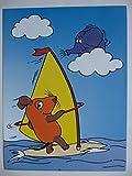 Unbekannt Die Sendung mit der Maus Windsurfen Post