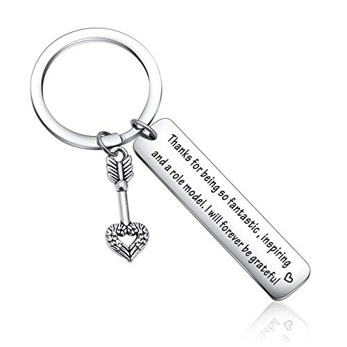 Role Model Keychain mom Jewelry Dad Gift Business Partner Gift for Boss Birthday Gift Coach Gift Mentor Gift Boss Appreciation Gift Dad Thank You Gift Grandpa Keychain Grandma Gift Role Model Keyring
