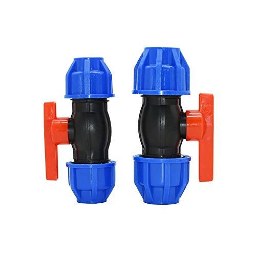XINXI-YW Conveniente Válvula de Bola DN15 DN20 PVC PE Tip.Pap válvula reguladora de caudal de Agua de 1/2