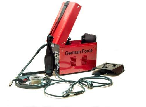 1. Soldador de hilo sin gas German Force MIG 100