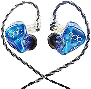 QDC Neptune Full Frequency Dynamic Unit Earbuds HiFi Noise Cancellation Monitor Headphone with Datachable Cable in-Ear Earphones with Mic
