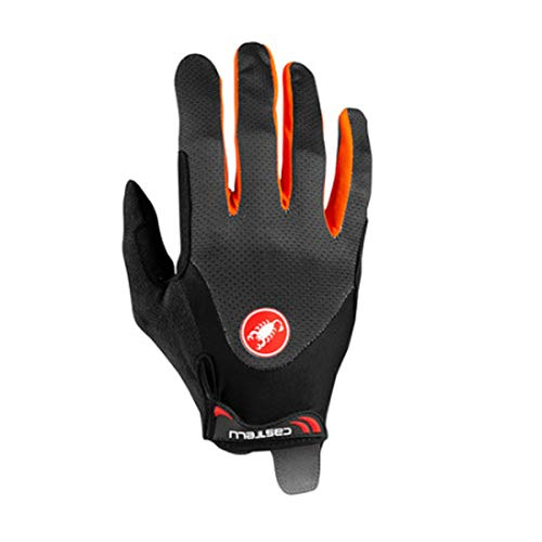 CASTELLI 4520033-334 ARENBERG GEL LF GLOVE Guanti ciclismo Uomo dark gray/orange XL