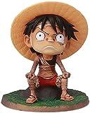 HCCTI Hand-Made Una Pieza Figura Monkey D. Luffy/Portgas · D · Ace/Shanks/Sabo PVC Estatua Estatua Colección de acción Estatuilla Carácter de Dibujos Animados Juguete Adorno