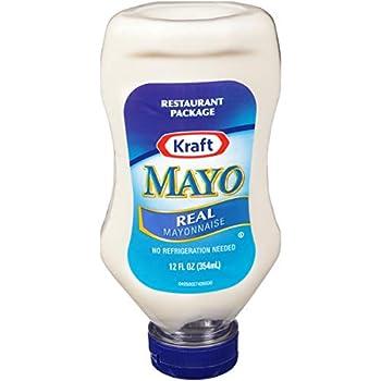 Kraft Mayo Real Mayonnaise  12 oz Bottles Pack of 12