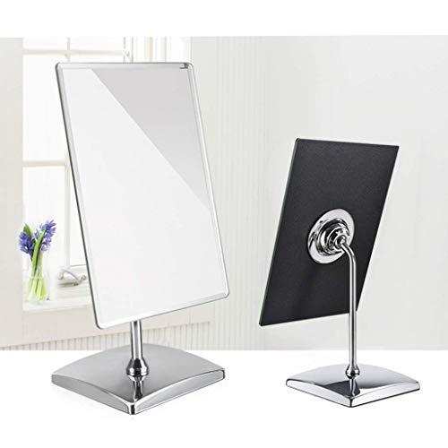 BD.Y Miroir de Maquillage HD - Miroir de Voyage - Compact, Largeur 4mm, Rotation 360, Mode Portable