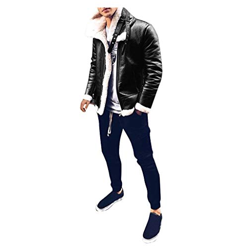 Hoodie Leather Jacket for Mens All Saints