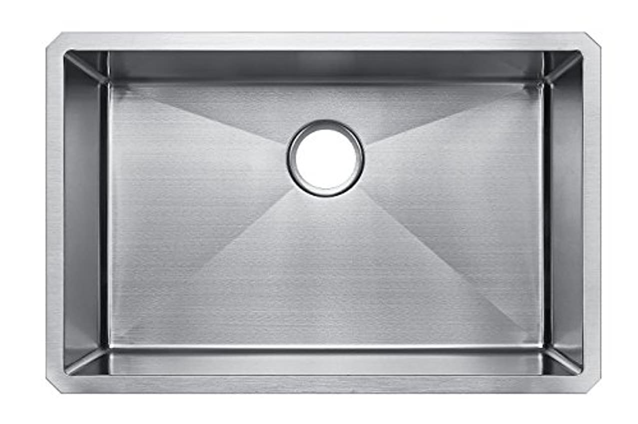 Starstar 29 Inches Undermount Single Bowl 304 Stainless Steel Kitchen Sink