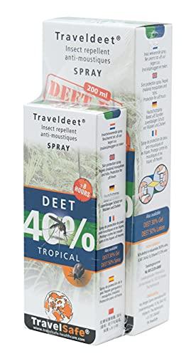 TravelSafe Family pack DEET 40% - 200 ml + 60 ml