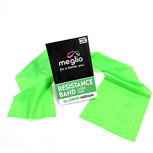 Meglio Resistance Bands Latex Free - Exercise Bands for Physiotherapy,...
