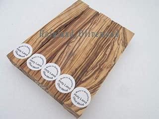 5 ~Dark Grains& Extremely Figured ~ Bethlehem Olive Wood Pen Turning Pen Blanks