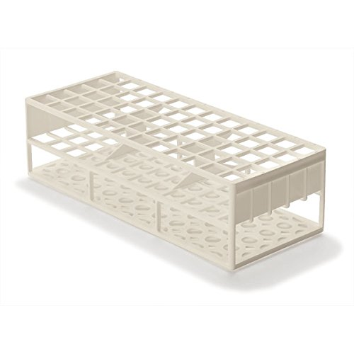 Limited price Laboratory Test Tube Racks service for Tubes 17mm White