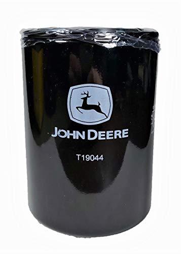 Filtro de aceite motor T19044 para Tractor JOHN DEERE. Repuesto original.