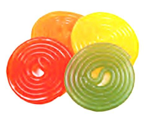 Haribo / ert, Assorted Fruit Wheels (Rotella Fruit) (2 Lbs)