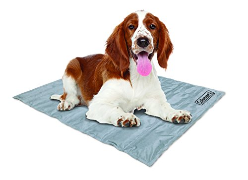Coleman Pressure Activated Comfort Cooling Gel Pet Pad Mat in Medium 24'x30', For Medium Pets, Keep...