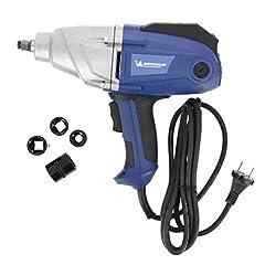 MICHELIN 602020090 Elektrisk slagnyckel, 1050 watt, vridmoment justerbar upp till 350Nm, 500Nm upplösningsmoment, 3 meter kabel, 2200 varv per minut