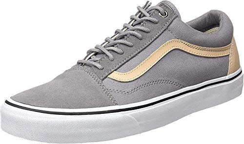Vans Herren Ua Old Skool Sneakers, Grau (Veggie Tan Frost Gray/True White), 44 EU, VA38G1MN6