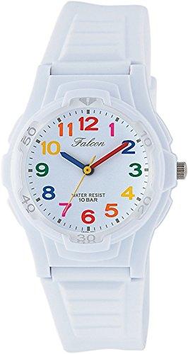 [シチズン Q&Q] 腕時計 アナログ 防水 ウレタンベルト VS06-001 レディース ホワイト マルチカラー