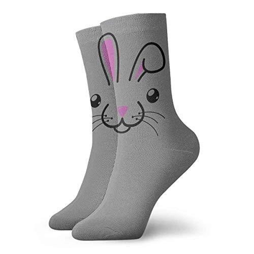 N/A Tennissocken,High Performance Kurzsocke,Anzug-Socken,Business Socken,Osterhase Männer Frauen Langlebige Sport Sport Socke Für Walking Wandern Erholung