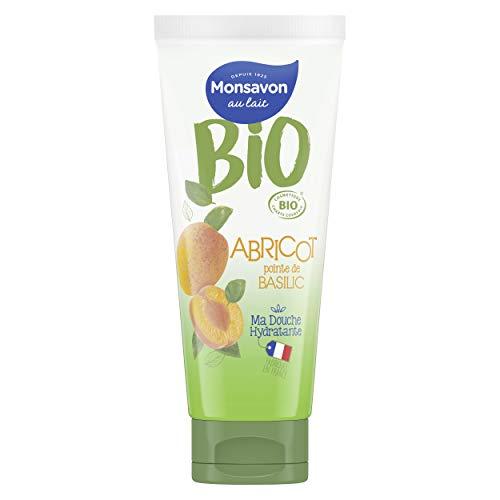 Monsavon Bio-Duschgel, Apricot Basilikum, 200 ml, 1 Stück