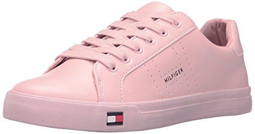 Tommy Hilfiger Women's Luster Sneaker, Blush, 8.5 Medium US