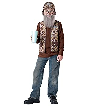 Duck Dynasty Uncle Si Boys Costume