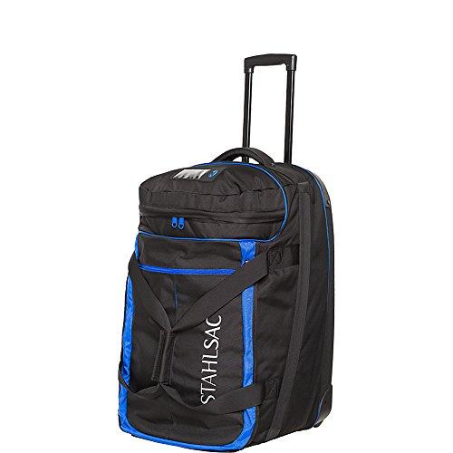Stahlsac by Bare Jamaican Smuggler Roller Dive Bag (Black/Blue)
