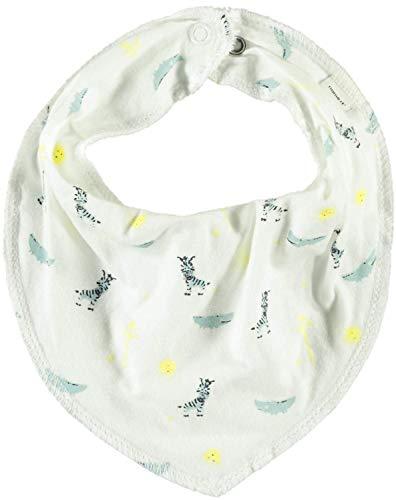 NAME IT ★ SOMMER Baby Dreiecktuch Halstuch Nitmix aus Baumwolle (Zebras auf weiß)